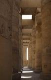 Runt om polisdistriktet av Amun-beträffande i Egypten royaltyfria bilder