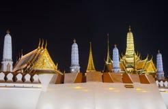 Runt om storslagen slott Bangkok, Thailand Arkivfoto