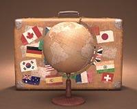 runt om världen arkivfoto