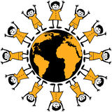 runt om världen Arkivfoton