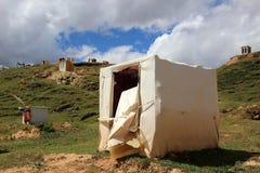 Runt om Yarchenen Gar Yaqen Orgyan Temple i Amdo Tibet, haka Fotografering för Bildbyråer
