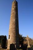 runt torn för glendalough Royaltyfri Fotografi