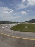 Runway. A runway of Phuket airport, island of Thailand Royalty Free Stock Photo