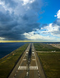 Runway airport Royalty Free Stock Photography