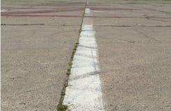 Runway in airport Stock Photos