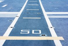 Runway in battleship background. Texture surface royalty free stock photos