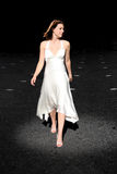 Runway bride Stock Images