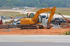 Runway Construction Stock Images
