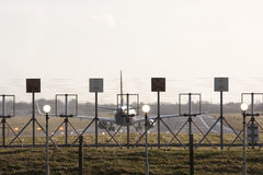 Runway fence Stock Photos