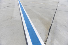 Runway Marking Royalty Free Stock Image