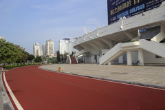 The runway out of stadium of amoy city Royalty Free Stock Image