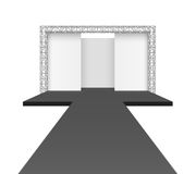 Runway podium stage Royalty Free Stock Images