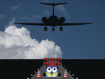 Runway repairs Royalty Free Stock Photography