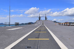Runway on ship Royalty Free Stock Image