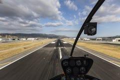 Runway View Burbank California Stock Images