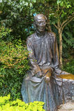 Ruo Shi Chinese Writer Statue Duolon Hongkou Shanghai China Stock Photography