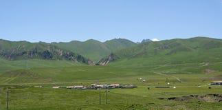 Ruoergai obszar trawiasty zdjęcie royalty free