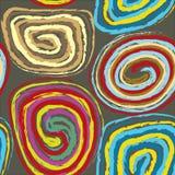 Ruolo del feltro multicolore Fotografie Stock Libere da Diritti