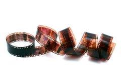 ruolo della pellicola da 35 millimetri Fotografie Stock Libere da Diritti