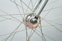 Ruota anteriore della bicicletta Fotografia Stock Libera da Diritti