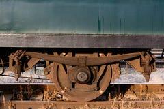 Ruota da un vagone Fotografia Stock