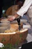 Ruota del formaggio Immagini Stock