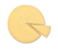 Ruota del formaggio Fotografie Stock Libere da Diritti