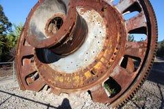 Ruota del frantoio dalla cava del cemento Fotografie Stock Libere da Diritti