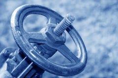 Ruota del metallo, valvola di regolazione della conduttura Immagine Stock Libera da Diritti