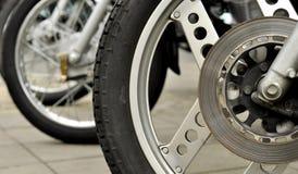 Ruota del motociclo Immagine Stock Libera da Diritti