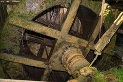Ruota del mulino a acqua Fotografia Stock Libera da Diritti