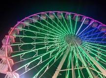 Ruota del parco di divertimenti Fotografie Stock