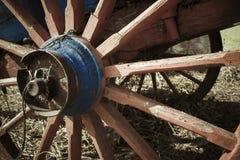Ruota del trasporto del cavallo Fotografie Stock