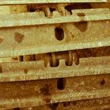 ruota del trattore a cingoli Fotografia Stock Libera da Diritti