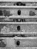 ruota del trattore a cingoli Fotografia Stock
