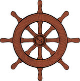 Ruota della barca Immagini Stock Libere da Diritti