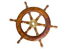 Ruota della barca fotografie stock