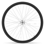 Ruota della bici Immagini Stock Libere da Diritti