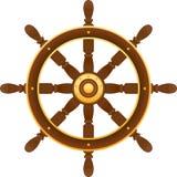 Ruota della nave illustrazione vettoriale