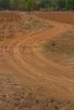Ruota della traccia del suolo Immagini Stock