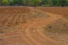 Ruota della traccia del suolo Fotografia Stock Libera da Diritti