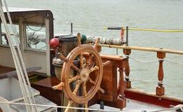 Ruota delle navi Fotografia Stock