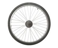 Ruota di bicicletta Immagini Stock