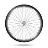 Ruota di bicicletta di vettore Fotografia Stock