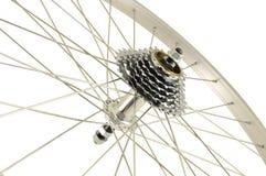 Ruota di bicicletta senza gomma Fotografia Stock Libera da Diritti