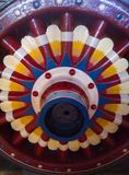 Ruota di colore fotografie stock