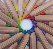 Ruota di colore Fotografie Stock Libere da Diritti