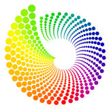 Ruota di colore Immagini Stock