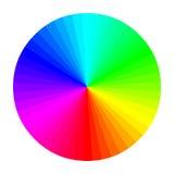Ruota di colore Fotografia Stock Libera da Diritti