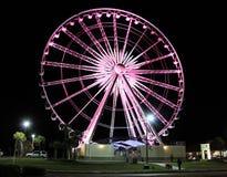 Ruota di Ferris della spiaggia di Pensacola Fotografia Stock